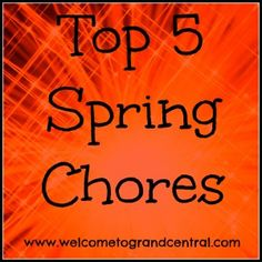 My Top Five #Spring #Chores #humor