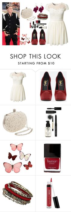 """""""My birthday Party with Niall Horan"""" by sabrina-emo ❤ liked on Polyvore featuring Elise Ryan, Yves Saint Laurent, A