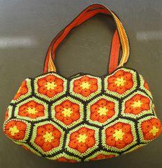 my new bag, fits to my green and my orange jacket Orange Jacket, New Bag, Macrame, Crochet Hats, Blanket, Knitting, Green, Bags, Breien