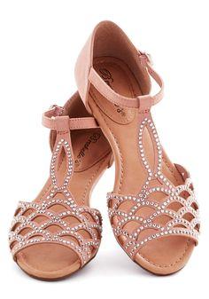 Set in Gemstone Sandal, #ModCloth