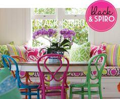 Oh how I love the bright mixture!Adore Home magazine - Blog