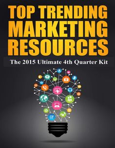 Top Trending Marketing Resources: The Ultimate Kit for 2016 Free Ebooks, Top Trending, Kit, Marketing, Business