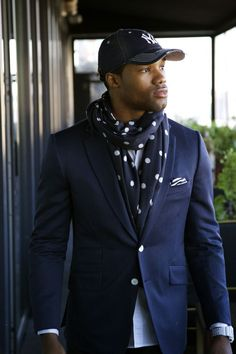 Super styled black man