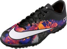 335711ed1 Kids Nike Mercurial CR7 Victory Turf Soccer Shoes. Selling fast at www. soccerpro.