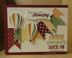 Stampin' Up!  Up, Up, and Away  Stasia Sloma at Stampin' & Scrappin' with Stasia