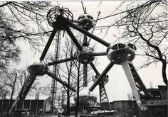 construction atomium 1957