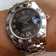 Some sparkle  PEARLMASTER 34mm | http://ift.tt/2cBdL3X shares Rolex Watches collection #Get #men #rolex #watches #fashion