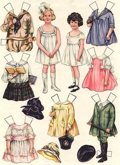 Sheila Young, Illustrator Polly Pratt paperdolls that were available in Good Housekeeping magazines during the 1919-1921 timeframe.