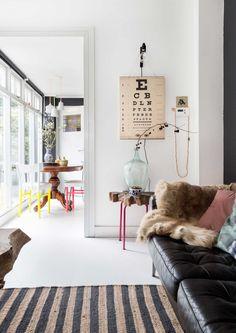 Une maison éclectique et DIY