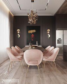 Living room designs – Home Decor Interior Designs Luxury Dining Room, Dining Room Design, Luxury Living, Design Kitchen, Dining Area, Elegant Dining Room, Small Dining, Design Bedroom, Bedroom Decor