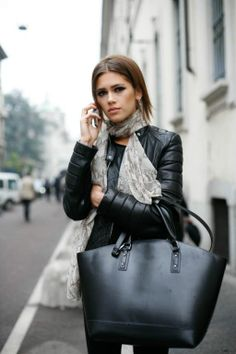 Milan Fashion Week #streetstyle #mfw