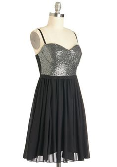Scene and Sequins Dress, #ModCloth
