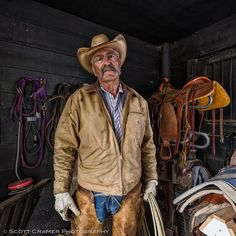 Colorado Cowboy Environmental Portrait by Scott Cramer Photography - Adventure Photo on 500px