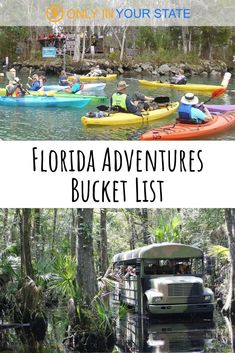 The Epic Adventure Bucket List Every Floridian Must Complete Cheap Family Vacations, Family Vacation Destinations, Vacation Spots, Vacation Ideas, Travel Destinations, Visit Florida, Florida Vacation, Florida Travel, Florida Trips