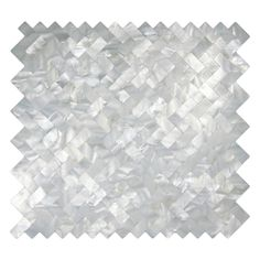 """Our beautiful Mother of Pearl tile in iridescence white and natural tones is on a mesh backing for easy installations in many applications. This durable and luxurious product is sure to enhance almost ..."
