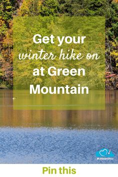 Green Mountain in Huntsville, Alabama is beautiful even in the winter. What are you waiting on? Get your winter hike on at Green Mountain! #iHeartHsv