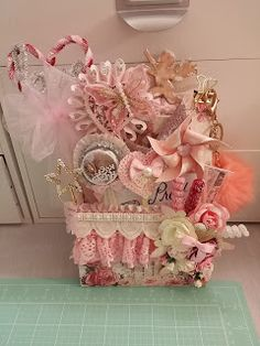KSP by Luisa: Shabby Chic Valentines Loaded Envelope w/Prima pap...