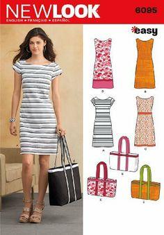 New Look U06095A Misses Dresses Sewing Pattern #ArtsAndCrafts