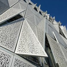 Henning Larsen's university building has a facade that moves in response to changing heat and light