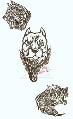 tribal pitbull design sticker decal for your car boat wall atv or anywhere you wish this. Black Bedroom Furniture Sets. Home Design Ideas