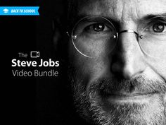 The Steve Jobs Video Bundle  - Lectures On The Man, His Legacy & The Future Of Technology #BackToSchool