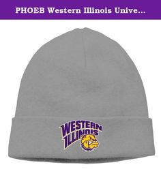 PHOEB Western Illinois University Men's & Women's Beanie Cap Hat Ski Hat Caps Warm Hedging Cap DeepHeather. ---This Warm Winter Hat Is Ideal For Any Kinds Of Winter Outdoor Activities.One Size Fits Most. ---Unisex Style.Suitable For Both Men And Women Of Varying Ages. ---Choose From Many Different Colors,Easily And Conveniently Matches Any Of.