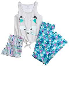 Fox Pajama Set (original price, $36.90) available at #Justice