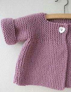 Ideas Crochet Cardigan Pattern Girls Baby Sweaters For 2019 Baby Knitting Patterns, Baby Cardigan Knitting Pattern Free, Knitted Baby Cardigan, Knit Baby Sweaters, Toddler Sweater, Knitting For Kids, Free Knitting, Baby Sweater Patterns, Cardigan Sweaters