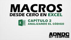 Macros Excel, Cap. 2 Analizando código de macros, signos y significados ...