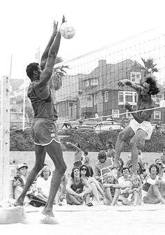 wilt chamberlain paying volleyball