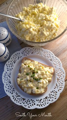 A classic Egg Salad recipe with tips for easy-peel eggs. The secret to this recipe is the three spices you add just a dash of.