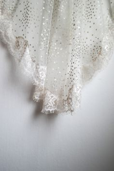 Wild Spirit Lovers introduce Asteria Veil - a customized mantilla drop bridal wedding veil with lace edges and glitter sparkling dots for bohemian, boho and vintage brides Wild Spirit, Wedding Veils, Beautiful Soul, Wedding Attire, Brides, Ivory, Bohemian, Lovers, Glitter