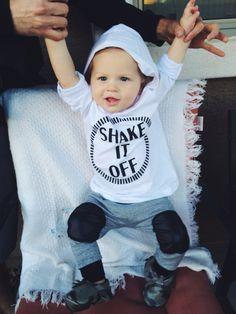 Baby Shake It Off hoodie. Lightweight & cozy!