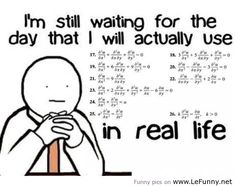 How I fell about math every day.