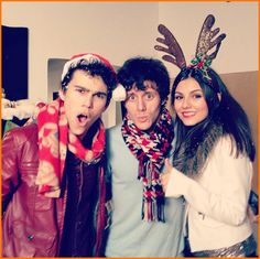 Victoria Justice Is Filming A New Music Medley Video With Max Schneider And Kurt Schneider