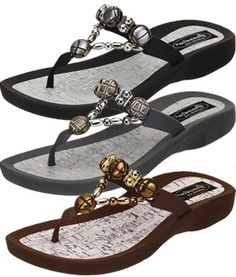 7698a0b9e Grandco Sandal - Cayman Thong 27469 Supportive Sandals