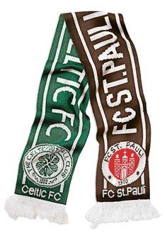 #Hamburg #SanktPauli #St_Pauli #fcsp #Fußball #football #Celtic_FC #scarf #Schal