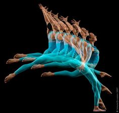 """lawrencefineart:""""Howard Schatz, from his """"Motion Studies"""" series. We will show Schatz's work at the upcoming Context Art Miami."""