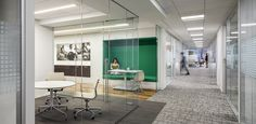 Hudson Institute in Washington, DC/ Architecture by Fox Architects/ Furniture by MOI/ Photography by Ron Blunt