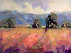 Colors of Summer by Trisha Adams Oil ~ 18 x 24