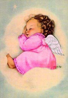 US Seller. Vintage Inspired Baby Angel, New Baby, Shower Gift. Fast S&H - Excited to share this item from my shop: US Seller. Vintage Inspired Baby Angel, New - Vintage Christmas Cards, Vintage Cards, Christmas Eve, Vintage Gifts, Christmas Stockings, Baby Engel, Good Night Everyone, I Believe In Angels, Angels Among Us