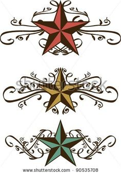 Find Set Vector Star Scrolls stock images in HD and millions of other royalty-free stock photos, illustrations and vectors in the Shutterstock collection. Thousands of new, high-quality pictures added every day. Western Clip Art, Western Theme, Western Fonts, Western Decor, Star Stencil, Stencils, Western Crafts, Scroll Pattern, Art