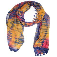Sunset Tie Dye Scarf