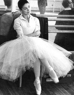 Dame Margot Fonteyn of the Royal Ballet.