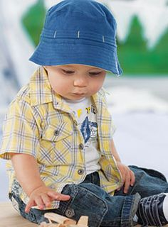 Love this outfit for my baby boy!