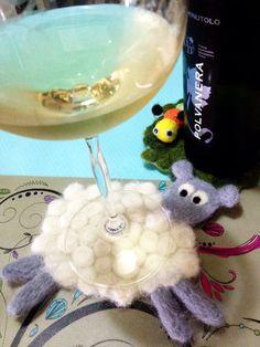 ハンドメイド:羊毛の羊