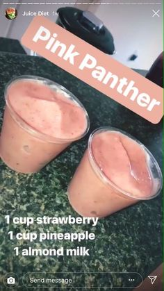 Healthy Smoothies To Lose Weight 10 Pounds. Smoothies Tips To Help In Any Home. Juice Diet, Juice Smoothie, Smoothie Drinks, Smoothie Bowl, Healthy Smoothies, Healthy Drinks, Healthy Snacks, Healthy Recipes, Pink Smoothie Recipe
