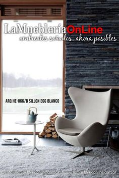 *Sillones individuales modernos ecocuero y cromo*  *Para conocer los precios ingresar en  www.lamuebleriaonline.com.ar