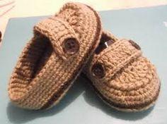 Resultado de imagen para zapatos tejidos para bebe