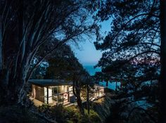 FALL HOUSE; Big Sur, California, Fougeron Architecture